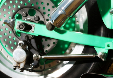 Shovelhead Custom Bottom Brake Mount