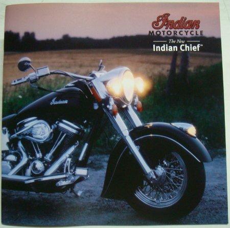 1999 Indian Chief Sales Brochure